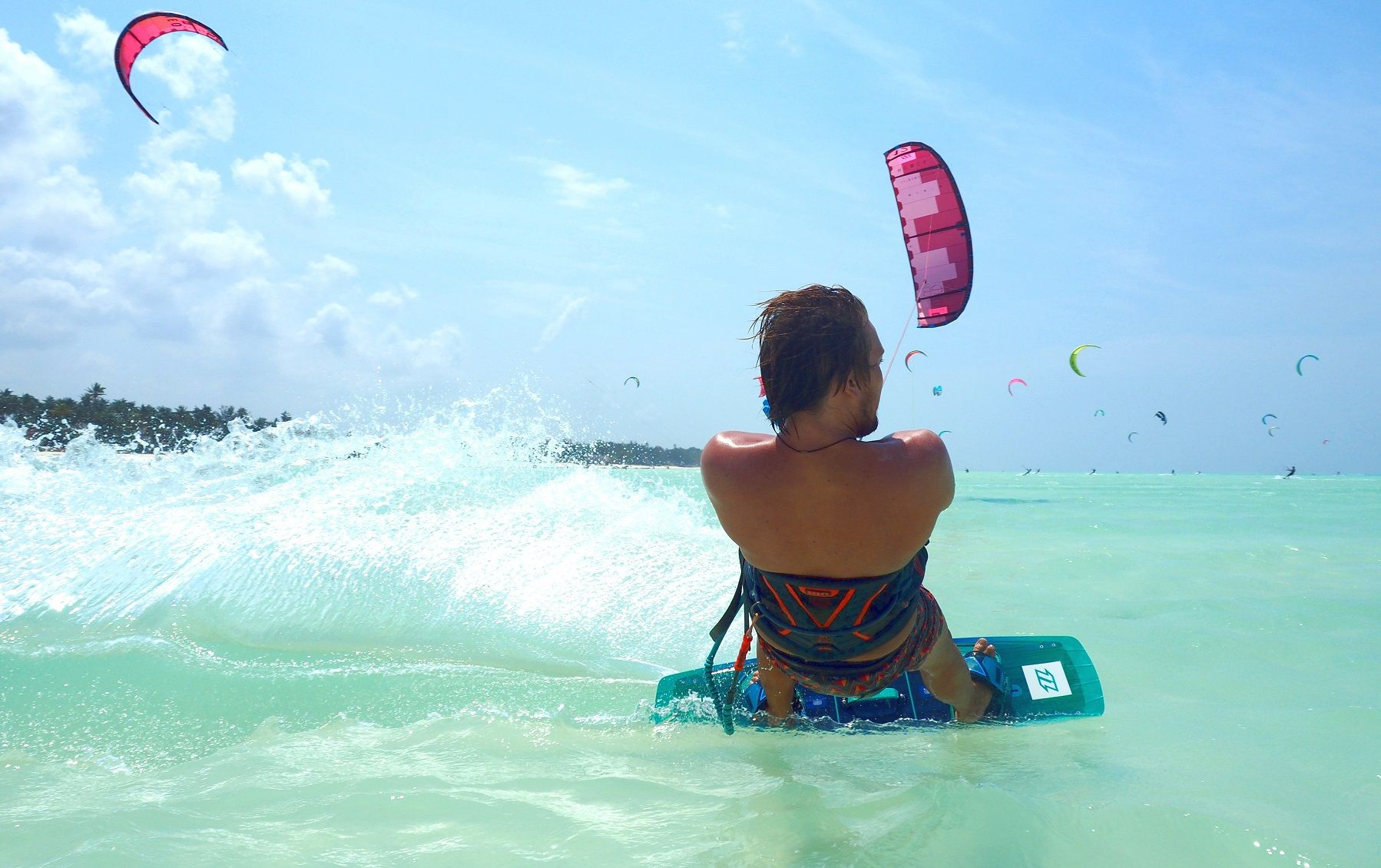book kitesurfing lessons at kite centre zanzibar
