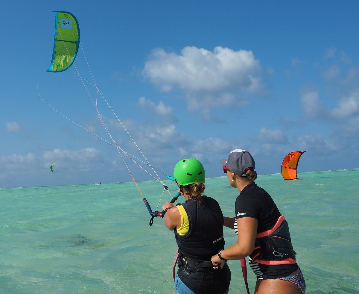 IKO way of teaching. What you learn in our Kitesurfing Lessons